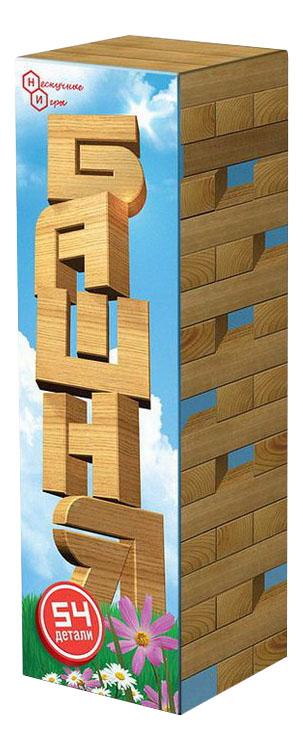 Конструктор деревянный Бэмби Башня 54 детали