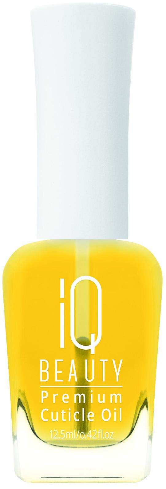 Купить Масло для ногтей IQ Beauty Premium Cuticle Oil Обогащённое масло для кутикулы 12, 5 мл