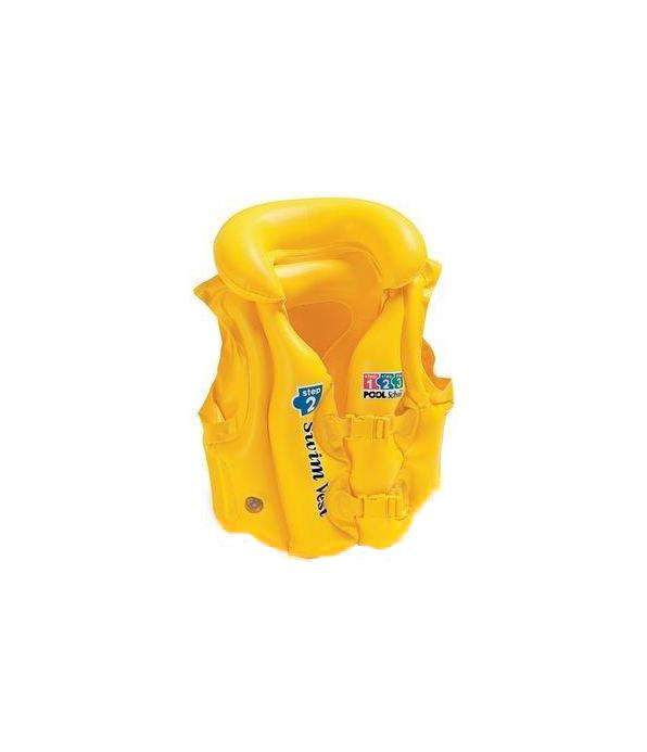 Плавательный жилет Intex Pool School 58660