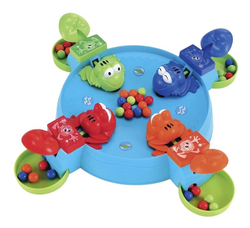 Купить Семейная настольная игра Фортуна Прожорливые лягушата, Семейные настольные игры