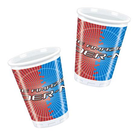 Одноразовые стаканы Новый Человек-Паук Procos S.A. 180 мл 10 штук