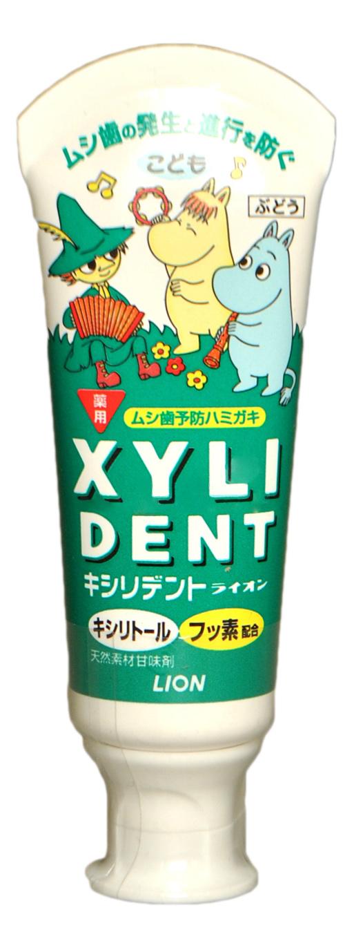 Купить Детская зубная паста Lion Xyli Dent 60 мл, Детские зубные пасты
