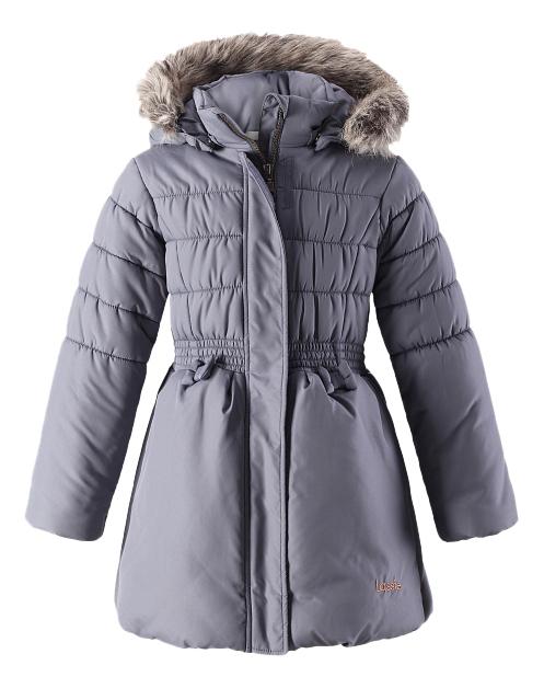 Купить Куртка Lassie Winter jacket серая р.104, Детские зимние куртки