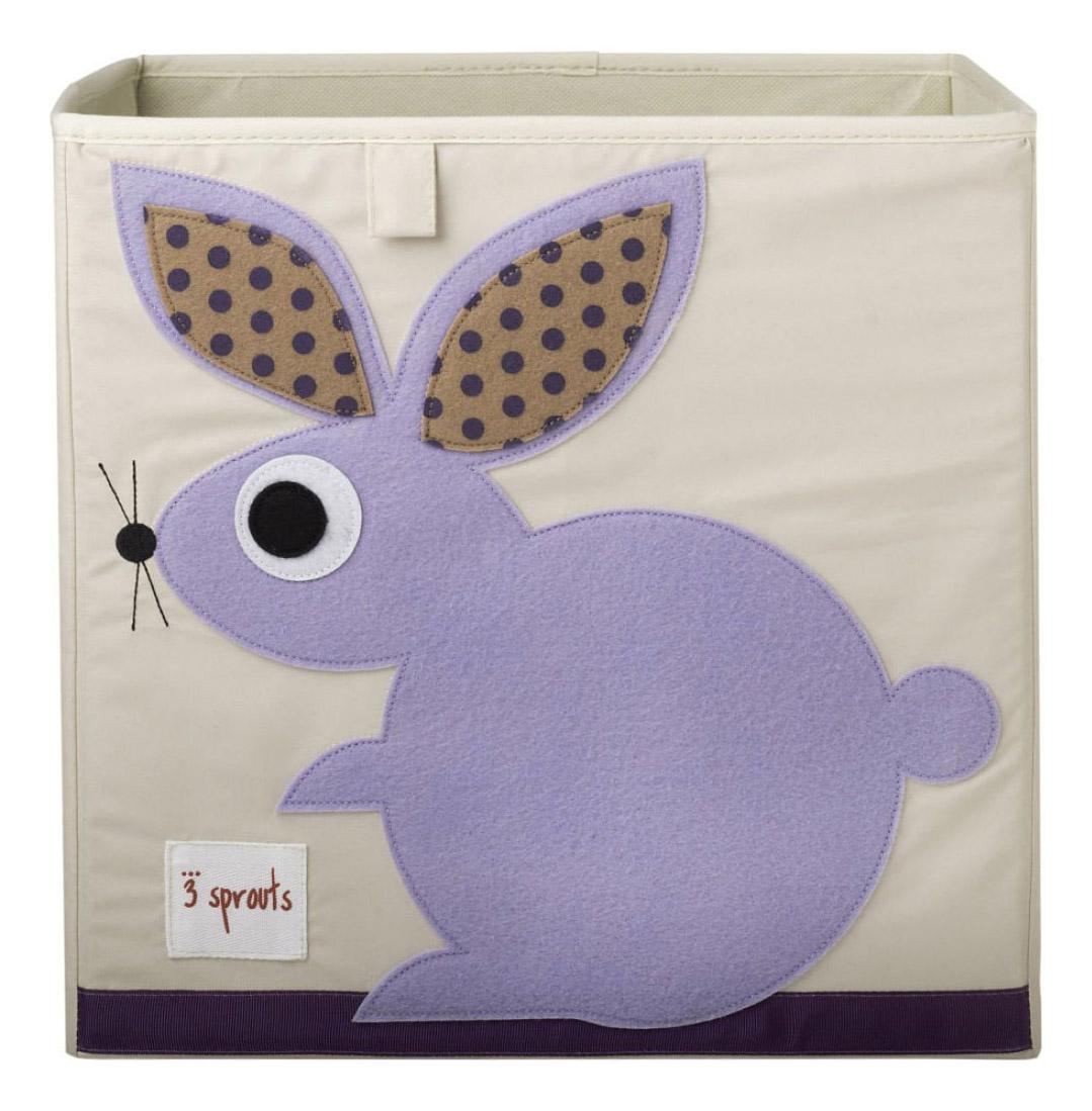 Ящик для хранения игрушек 3 sprouts Кролик