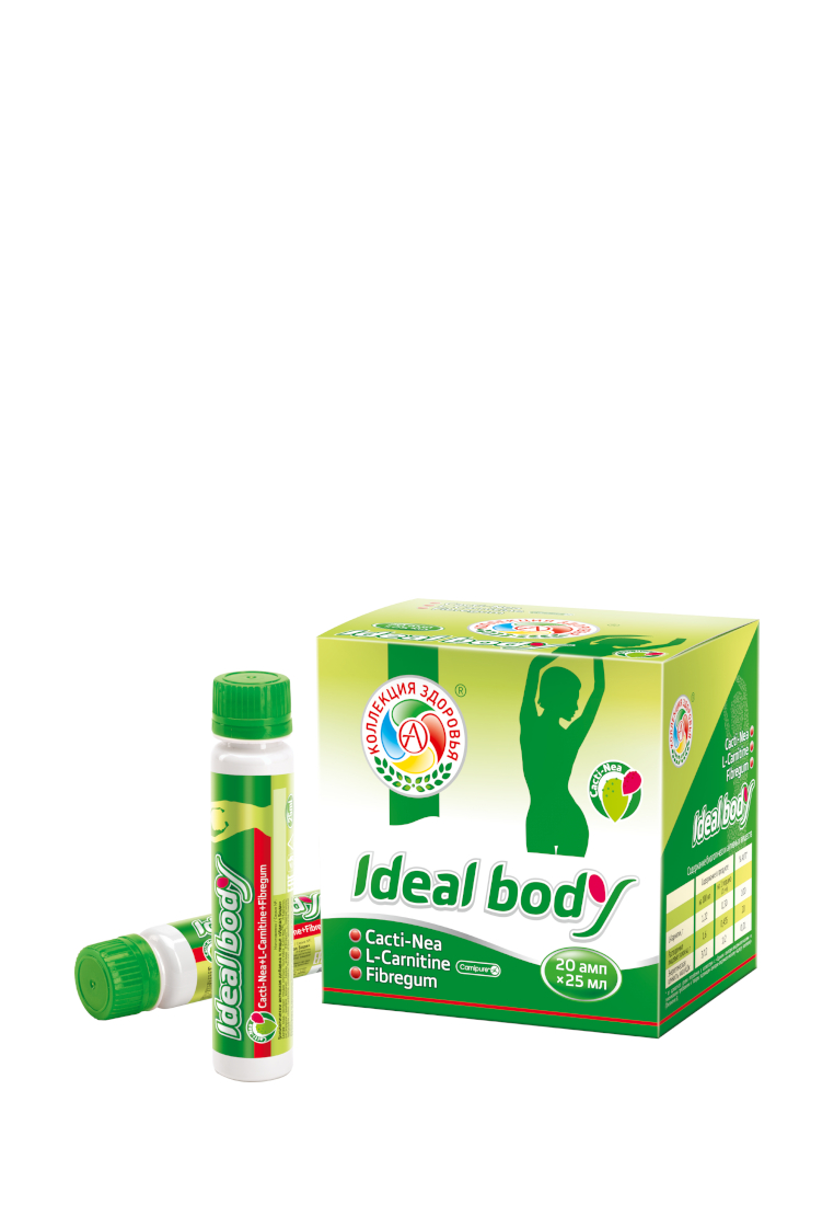 Жиросжигатель Академия-Т Ideal Body, 20 ампул по 25 мл, ананас фото