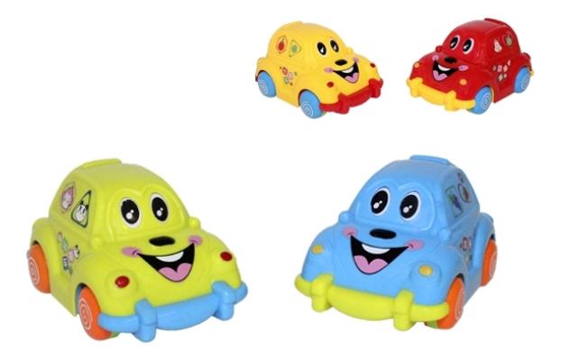 Купить Набор пластиковых машинок Play Smart Фруктовые машинки 8 шт., PLAYSMART, Игрушечные машинки