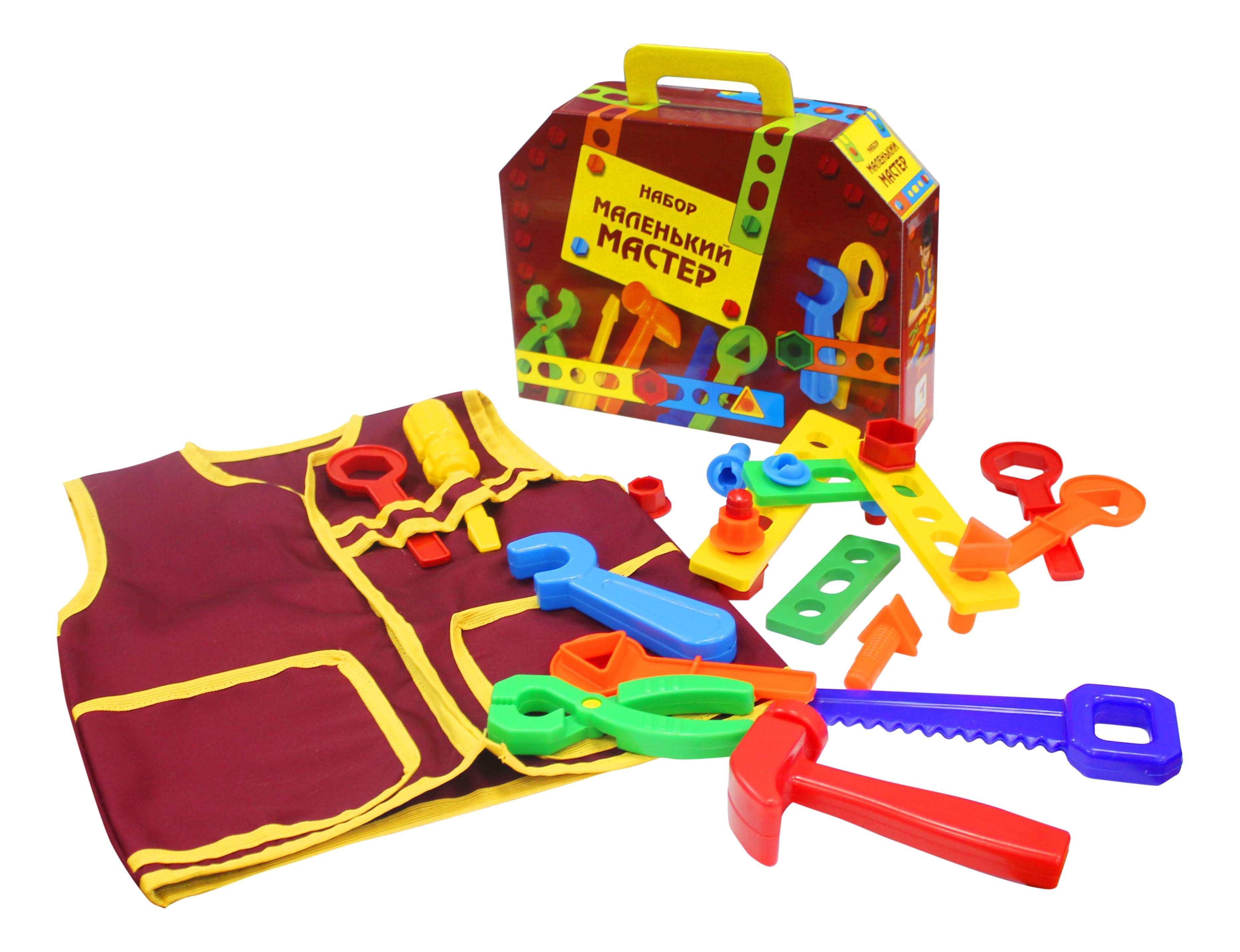 Плэйдорадо Набор инструментов маленький мастер Плэйдорадо 22148 фото