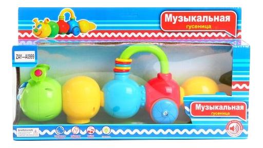Музыкальная игрушка Zhorya Музыкальная гусеница фото