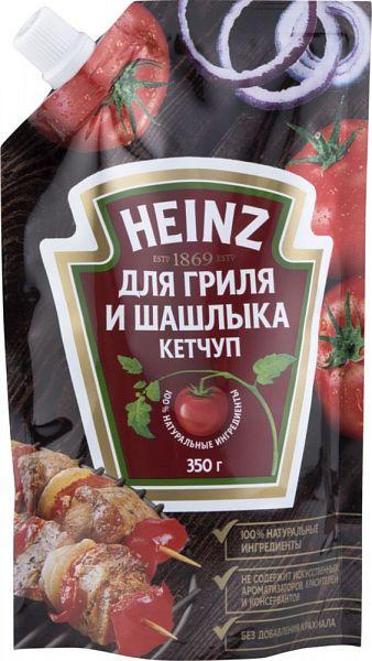 Кетчуп Heinz для гриля и шашлыка 350 г фото