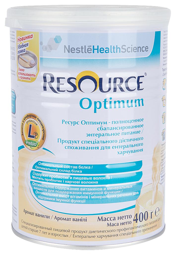 Купить Смесь Nestle Resource Optimum с 7 лет 400 г, Детские смеси