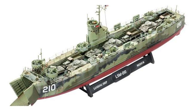 Купить Сборная модель Корабль U.S. Navy Landing Ship Medium Revell 05123R, Модели для сборки