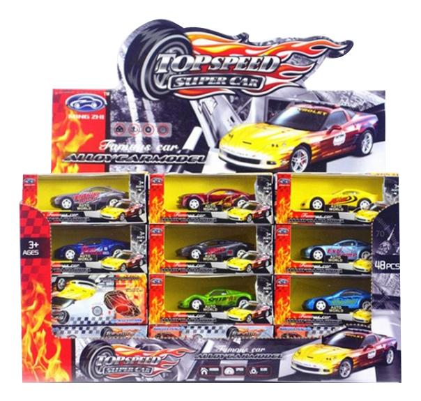 Купить Top Speed, Набор инерционных машинок TopSpeed Gratwest А79441, Наборы игрушечного транспорта