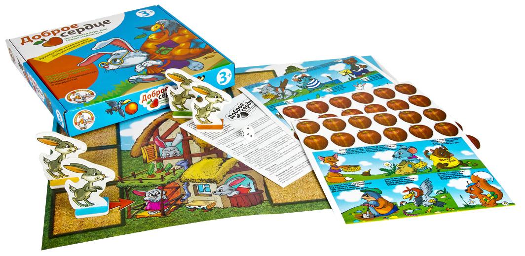 Купить Семейная настольная игра Десятое королевство Доброе сердце Р43303, Десятое Королевство,