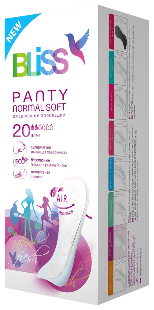 Прокладки Bliss Panty Normal Soft Ежедневные 20 шт