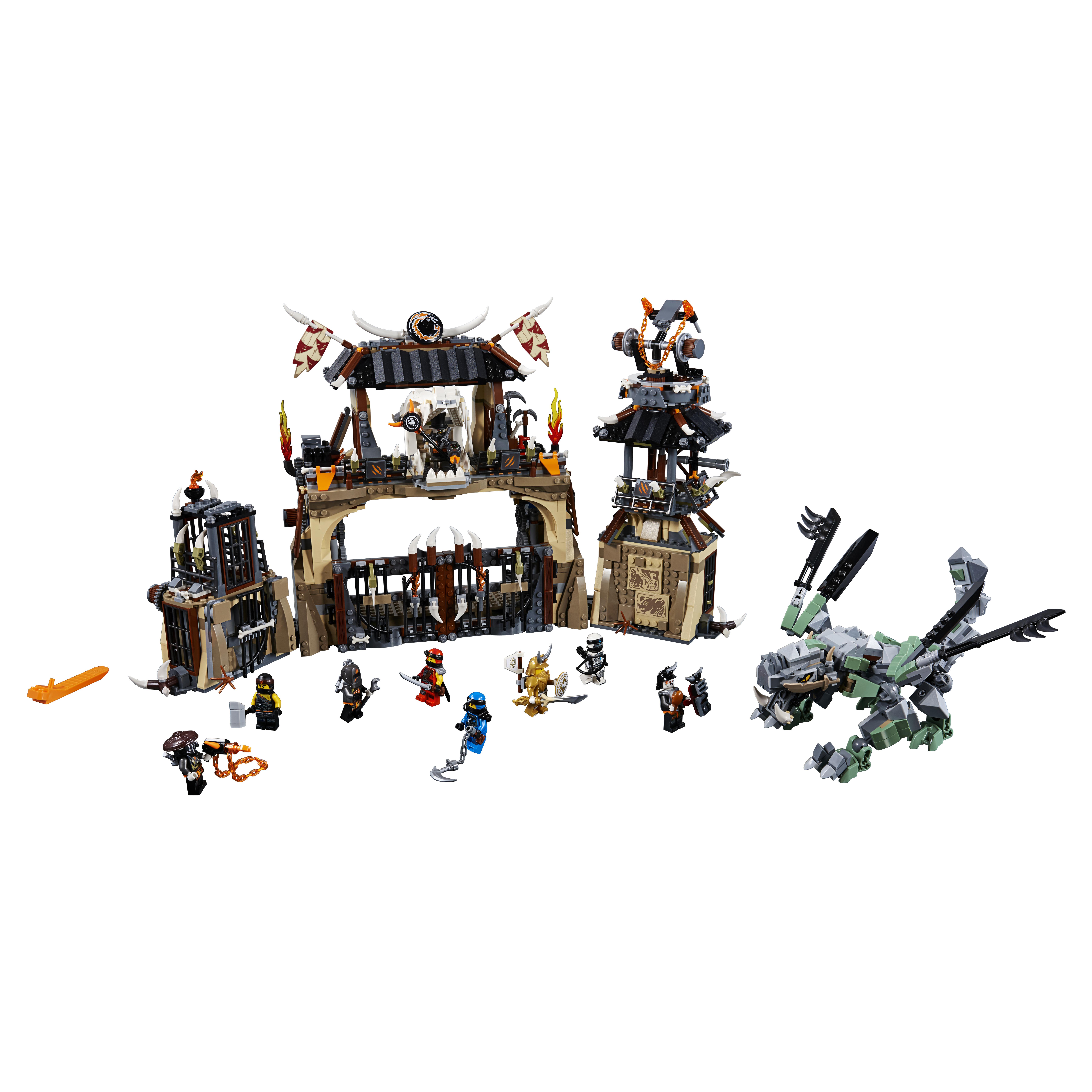 Конструктор LEGO Ninjago Пещера драконов 70655 LEGO
