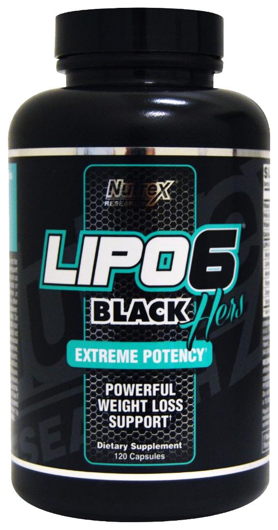 Жиросжигатель Nutrex Lipo 6 Black 120 капс.