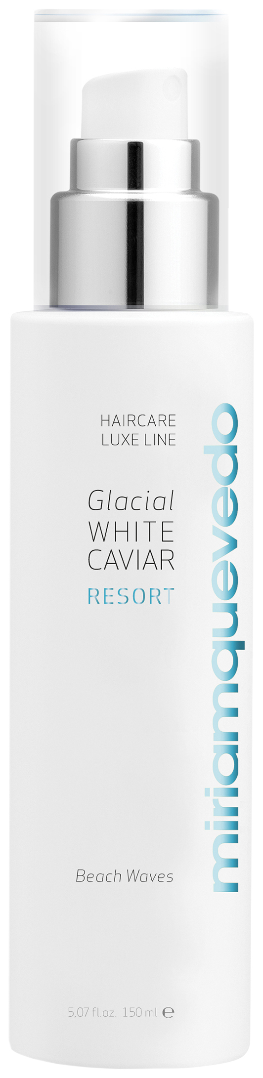 Текстурирующий спрей Miriamquevedo Glacial White Caviar для создания