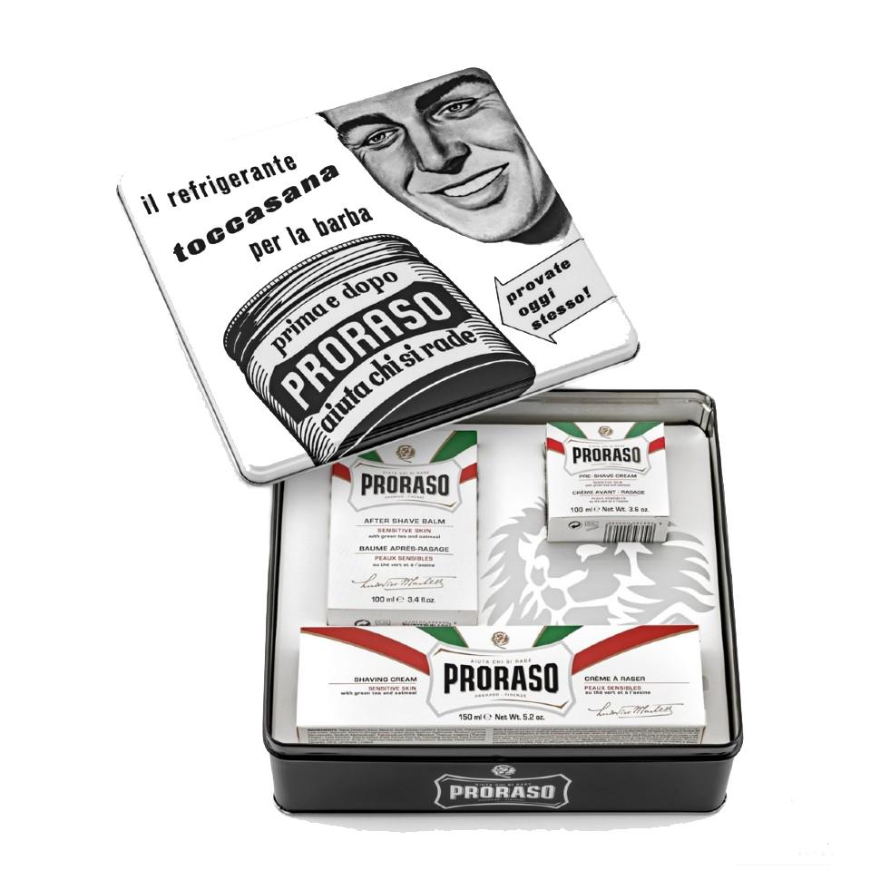 Купить Набор для бритья Proraso Vintage Selection Toccasana 350 мл