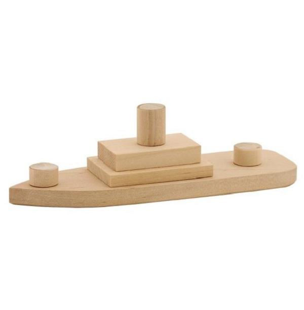 Модель для детского творчества Кораблик