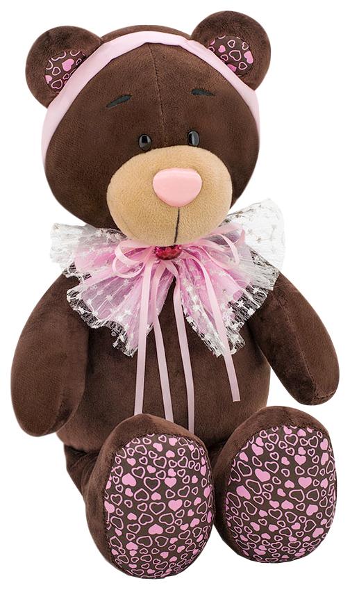 Мягкая игрушка Orange Toys Медведь Розовый бант Choco#and#Milk 20 см