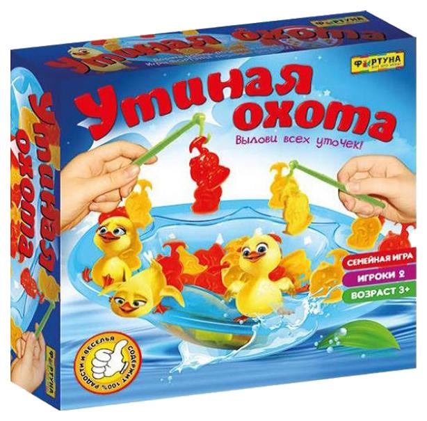Купить Семейная настольная игра Фортуна Утиная охота 87006, Семейные настольные игры