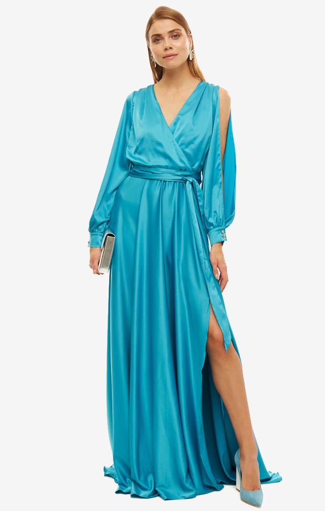 Платье женское ALISIA HIT голубой