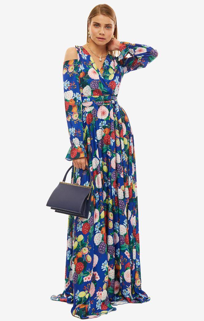 Платье женское ALISIA HIT синее