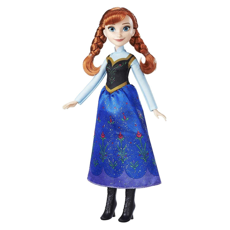 Купить Кукла Frozen Принцесса Анна Холодное сердце, базовая B5163, Классические куклы