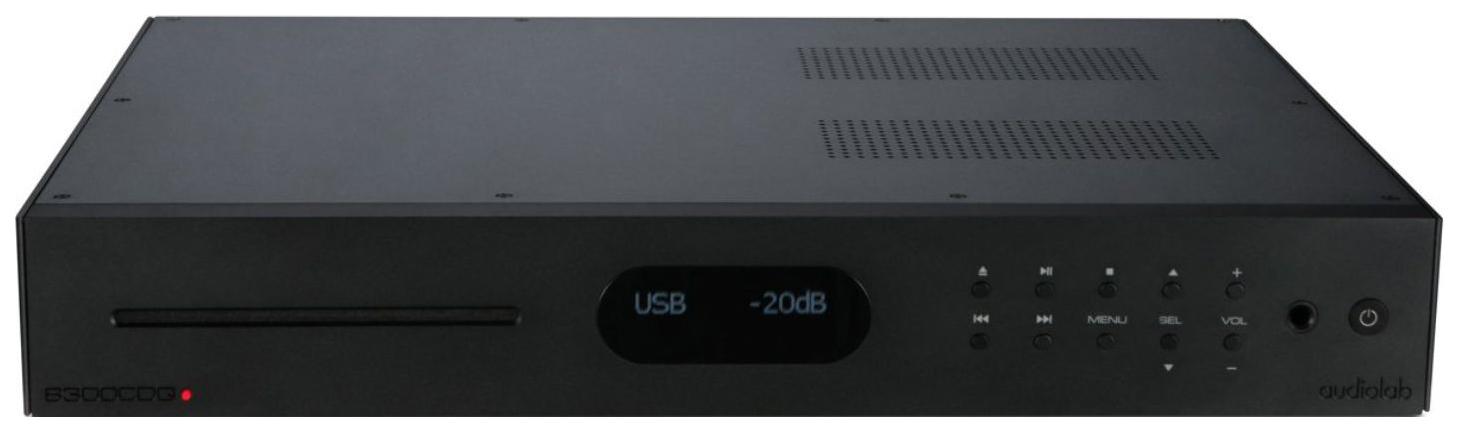 CD проигрыватель AudioLab 8300CDQ Black