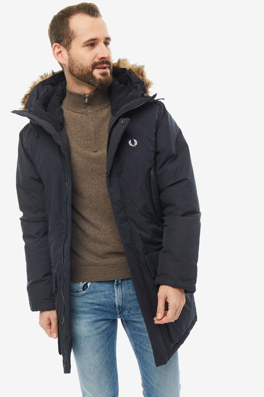 Куртка мужская Fred Perry J7514 102 черная 2XL