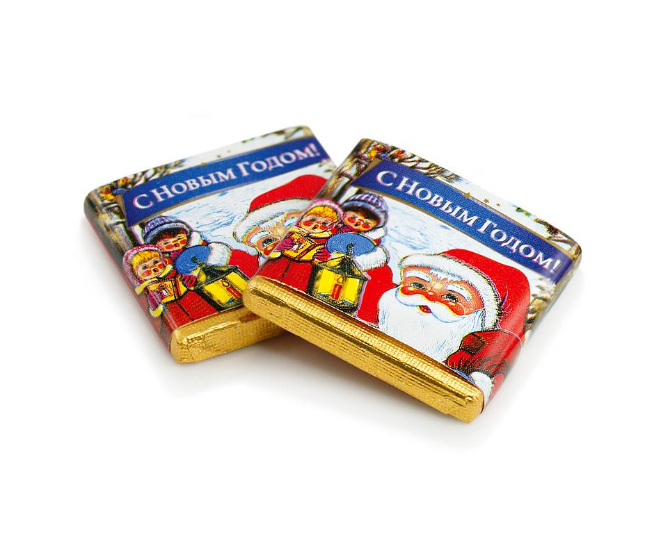 Мини-шоколад Победа Вкуса молочный С Новым годом!