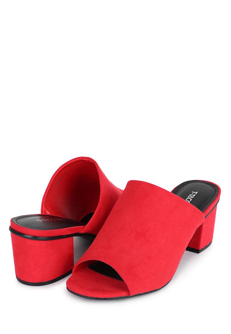Сабо женские T.Taccardi 17333RK красные 35 RU