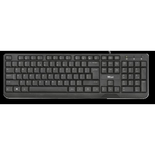 Клавиатура Trust Ziva Black (22174)