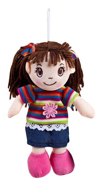 Купить Кукла мягконабивная, 20 см (платье в полоску), ABtoys, Классические куклы