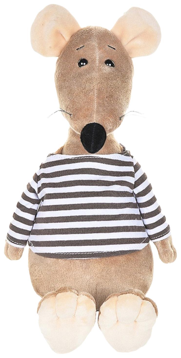 Купить Мягкая игрушка Крыс Крис в тельняшке , 27 см, Maxitoys, Игрушки с символом года