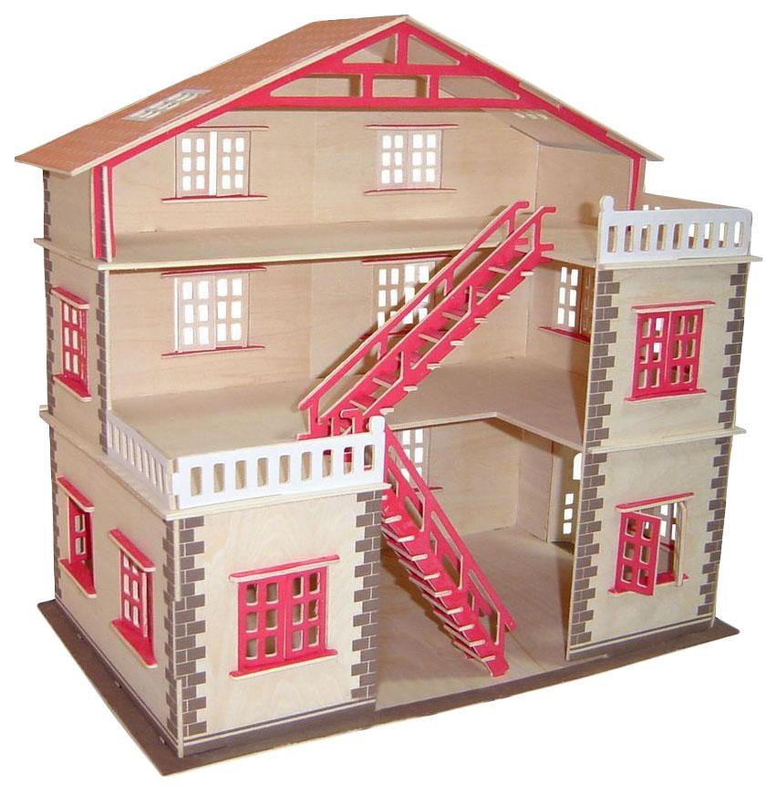 Купить Конструктор Кукольный домик Wooden Toys, Кукольные домики