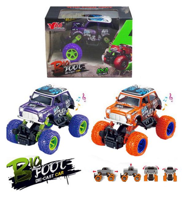 Купить Джип Junfa toys 1:36 инерционный звуковые и световые эффекты 2 вида 121994-TN, Игрушечные машинки