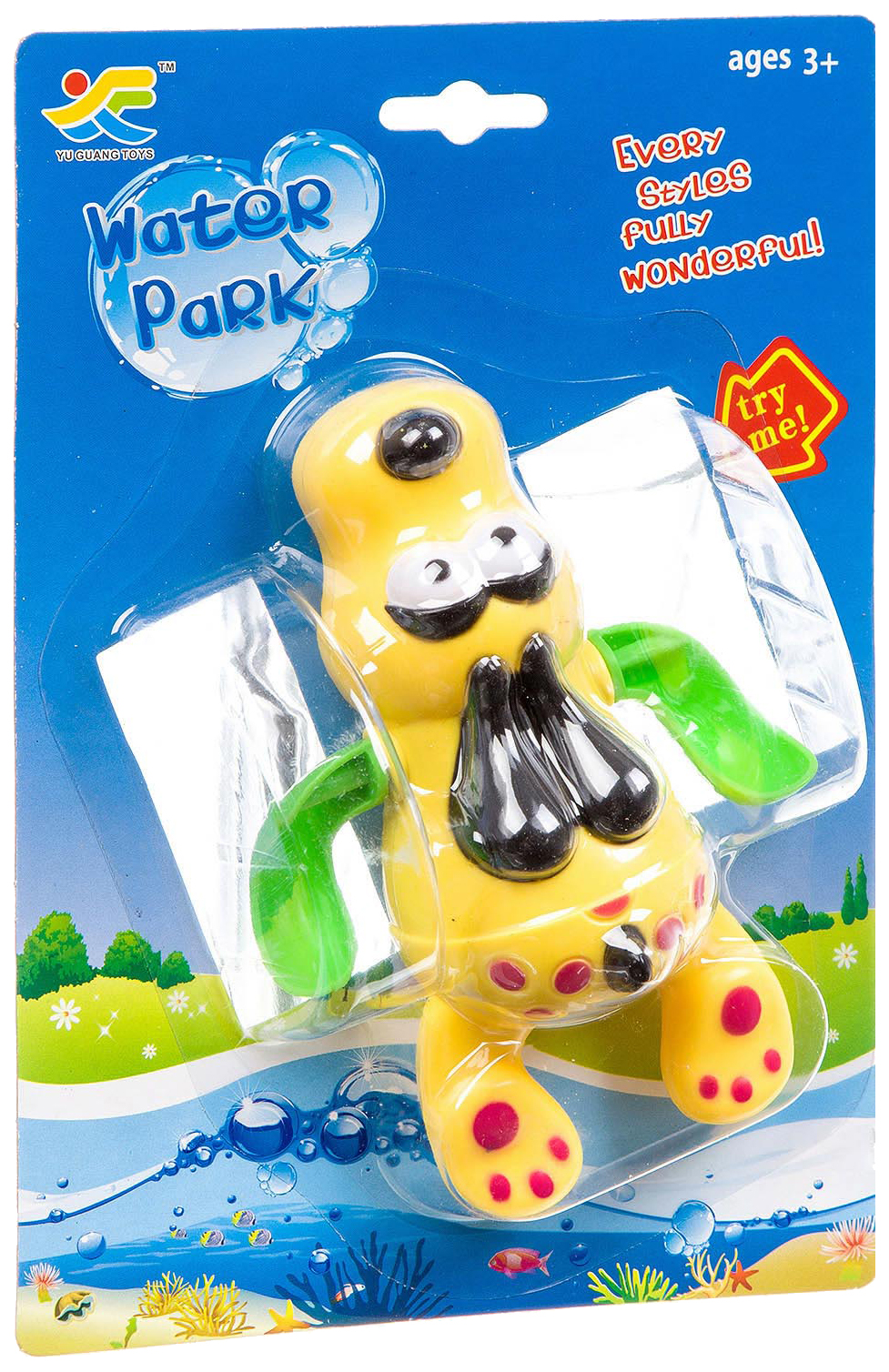 Купить Заводная игрушка Shenzhen Toys аквапарк 2 вида арт. 3336AB., Игрушки для купания
