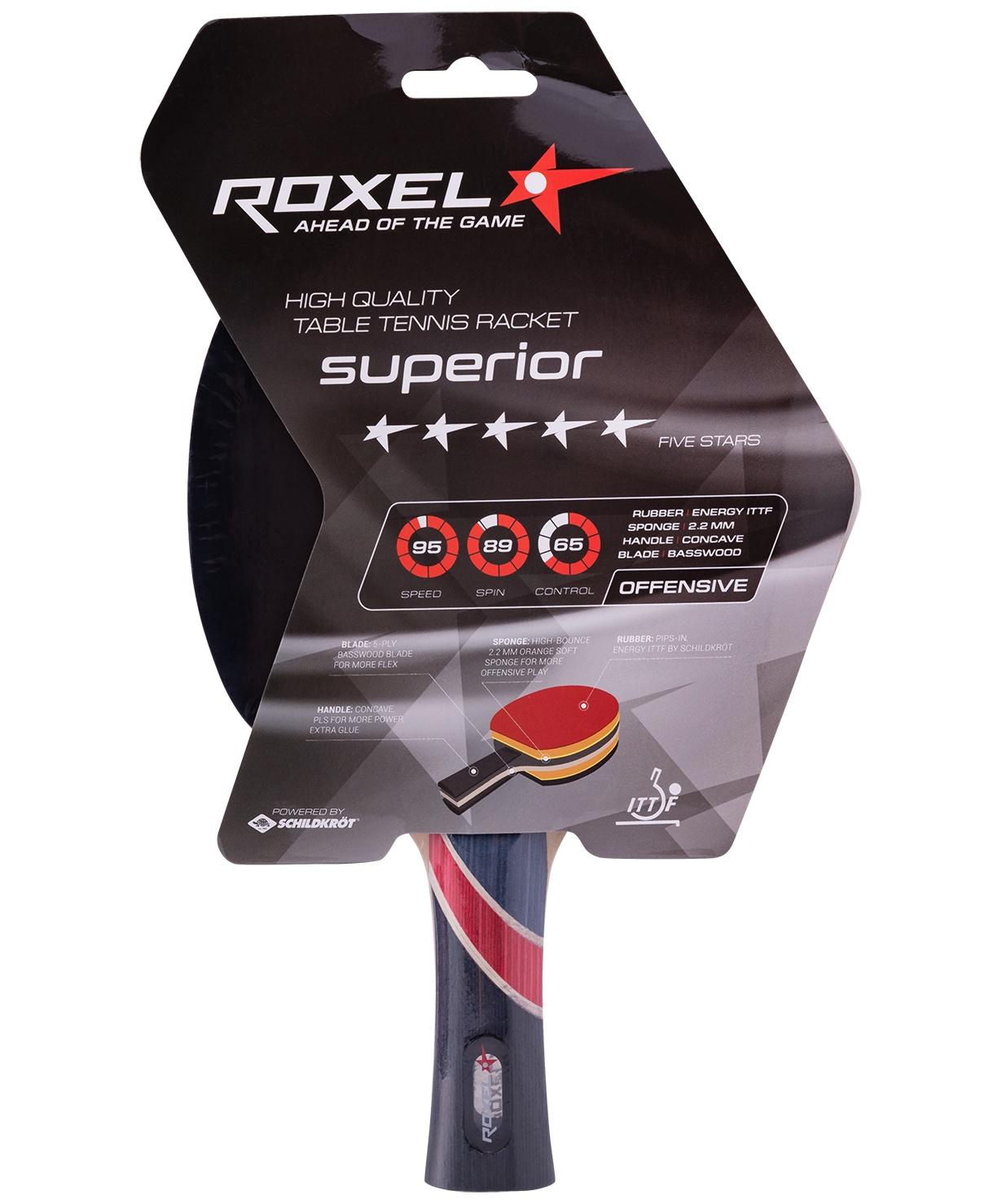 Ракетка для настольного тенниса Roxel Superior