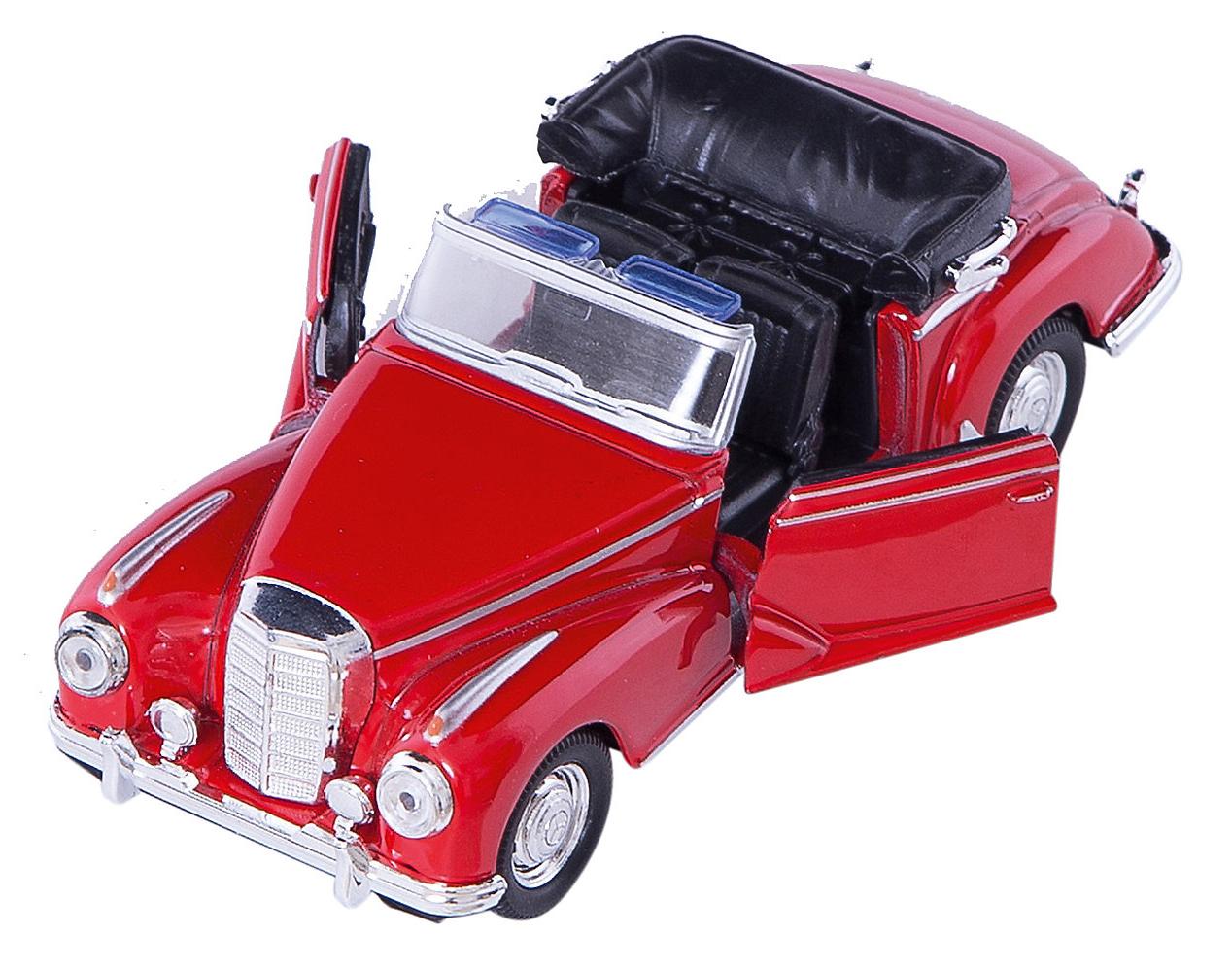 Купить Welly 98879 Велли модель винтажной машины 1:34-39 Mercedes-Benz 500K, Коллекционные модели