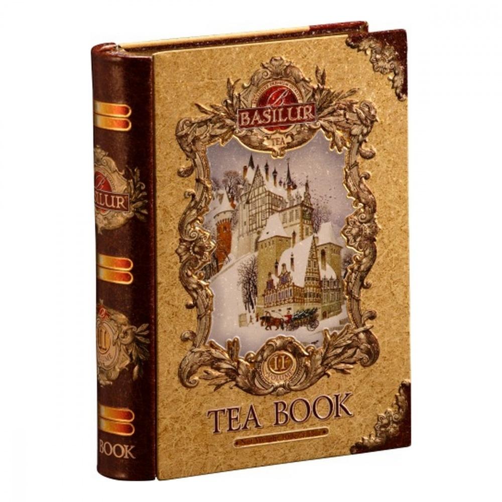 Чай Basilur Чайная книга. Том 2 черный с добавками 100 г фото