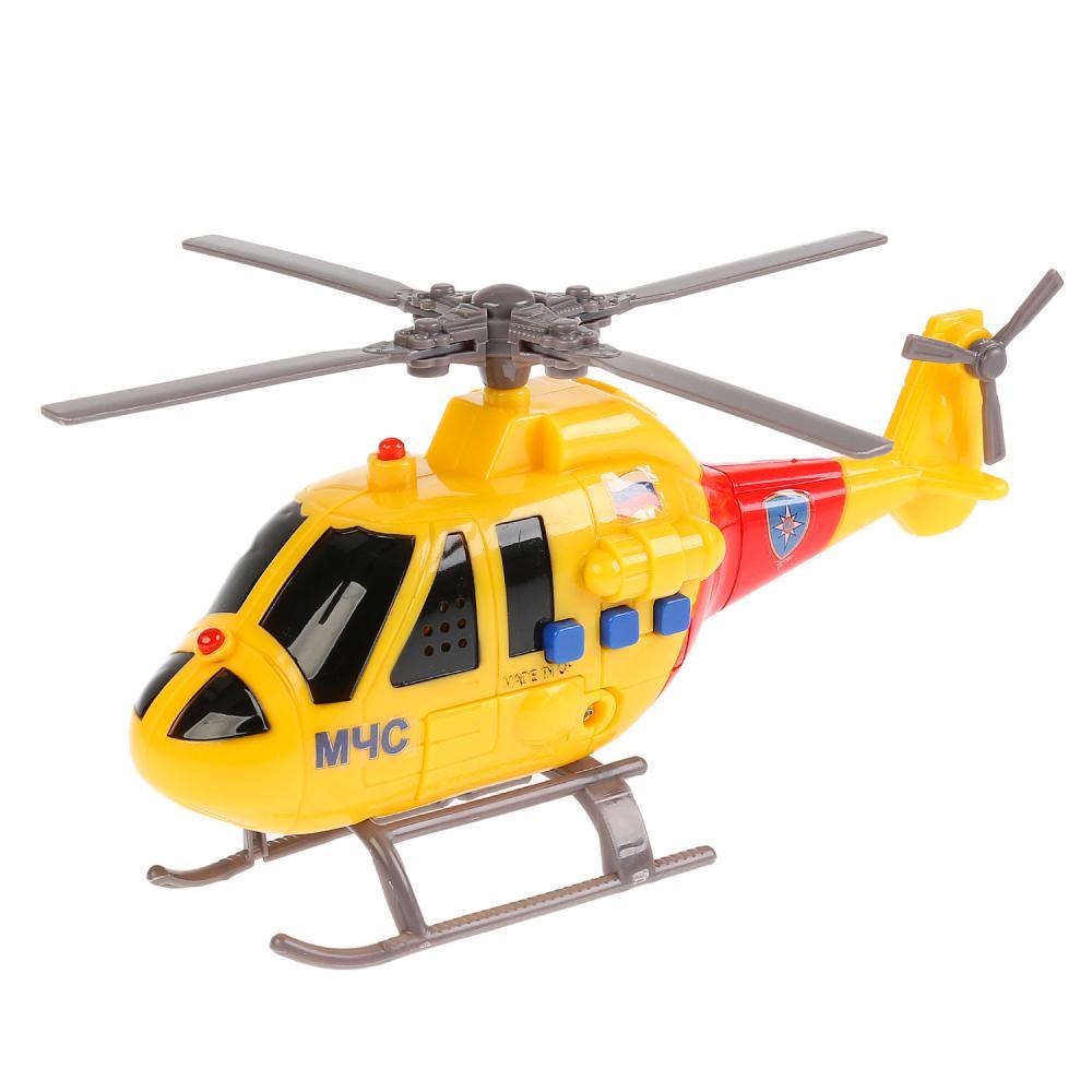 Купить Вертолет Технопарк МЧС 19см свет/звук,