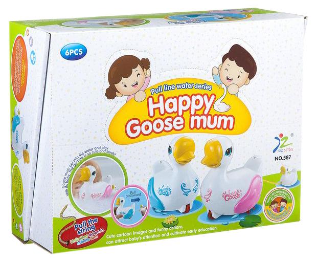 Купить Набор заводныз игрушек Shenzhen toys Гусыня с гусенком, Игрушки для купания