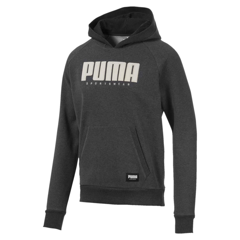 Толстовка Puma Athletics, dark gray heather, S фото