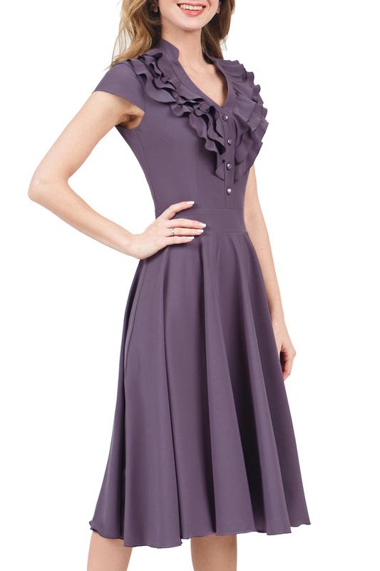 Платье женское MARICHUELL MPL00060L(FERNANDA) фиолетовое 48 RU фото