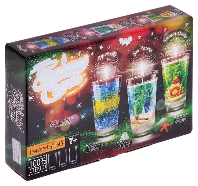 Купить Набор для творчества Danko Toys Гелевые свечи своими Руками Gs-02-02,