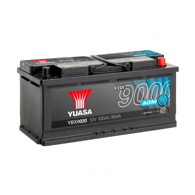 Аккумуляторная Батарея Agm Start Stop Plus[12v 105ah 950a B13] YUASA по цене 17 081