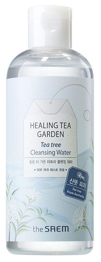 Купить Очищающая вода The Saem Healing Tea Garden Tea Tree Cleansing Water 300 мл