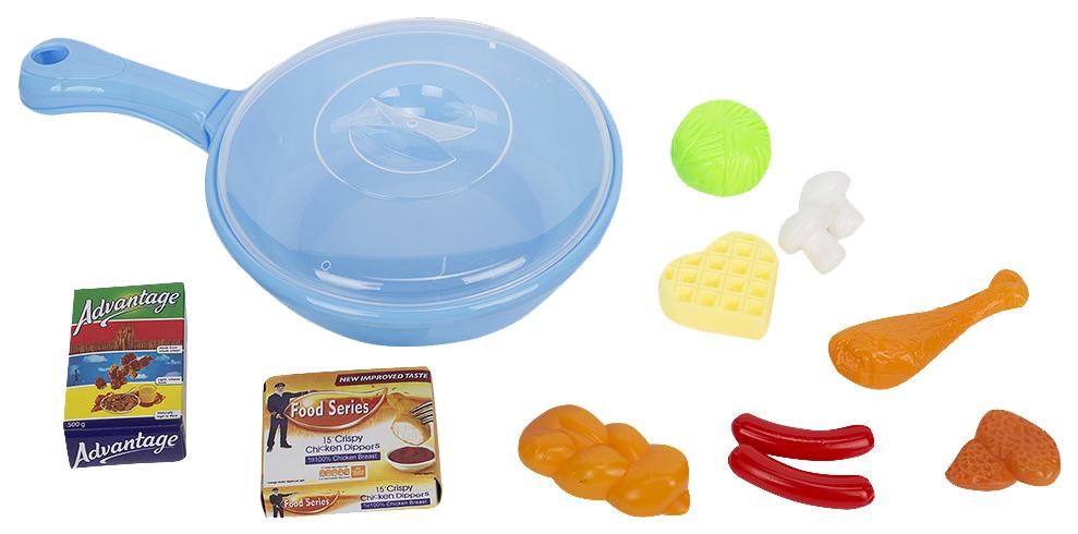 Купить Детская кухня Игруша: посуда, продукты для кукол I-NF591-24,