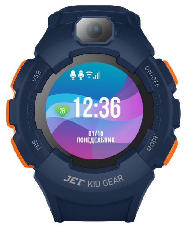 Детские смарт часы Jet Kid Gear Orange/Blue
